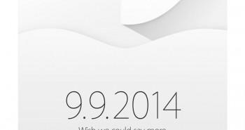 Apple is sending invitations for event on September 9