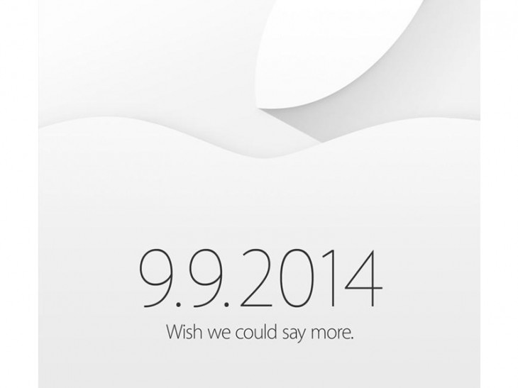 Apple is sending invitations for event on September 9