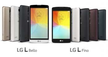 LG L Bello and L Fino are officially introduced
