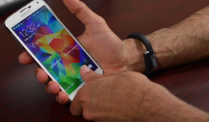 Samsung Galaxy Note 4 is provided with Natural ID fingerprint sensor