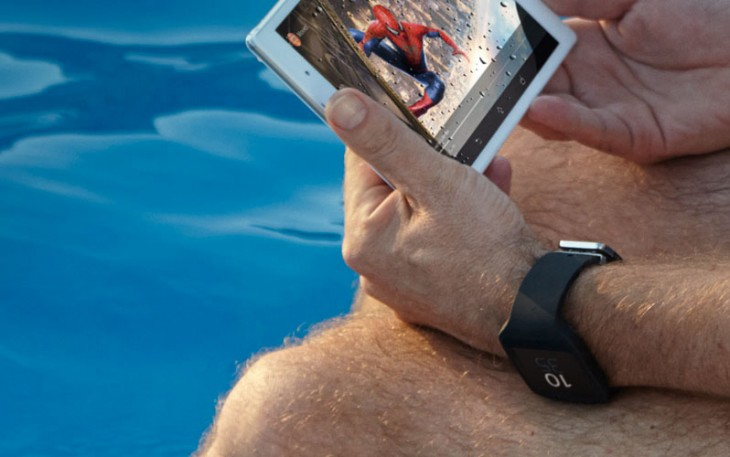 Sony mistakenly presents a tablet and a smartwatch