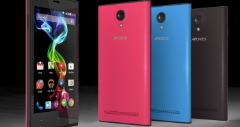 Archos 50b Platinum and 45c Platinum are launched