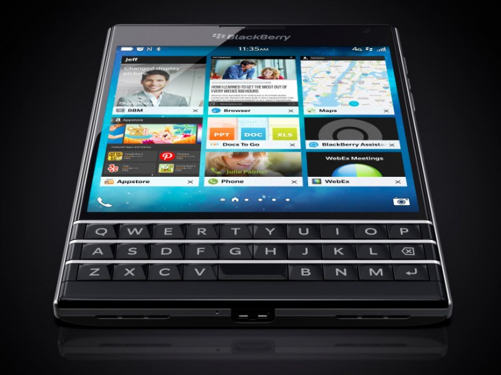 BlackBerry Passport is launched in Canada, US and UK
