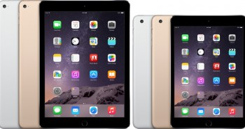 Apple iPad Air 2 and iPad mini 3 are unveiled
