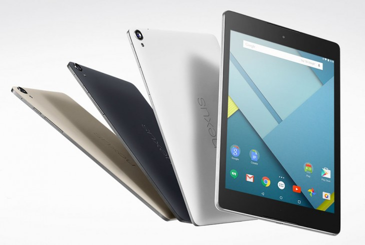Nexus 6 and Nexus 9 go official