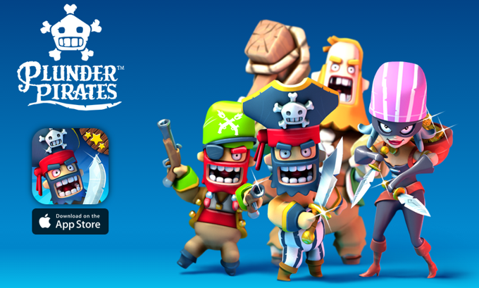 Plunder Pirates is listed in App Store