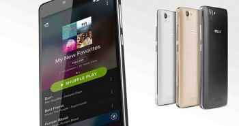 BLU unveiled 7 new smartphones at CES 2015