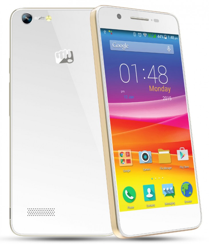 Micromax Canvas Hue is presented