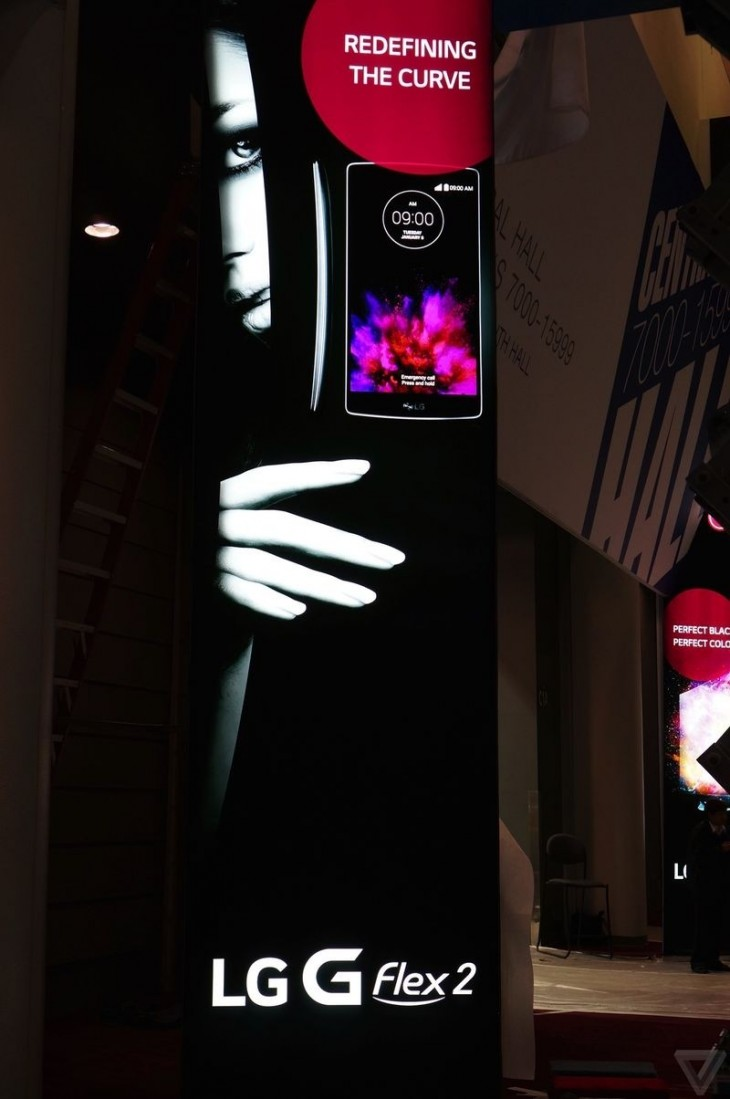 LG G Flex 2 is presented in a new ad