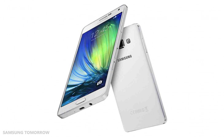 Samsung Galaxy A7 is unveiled
