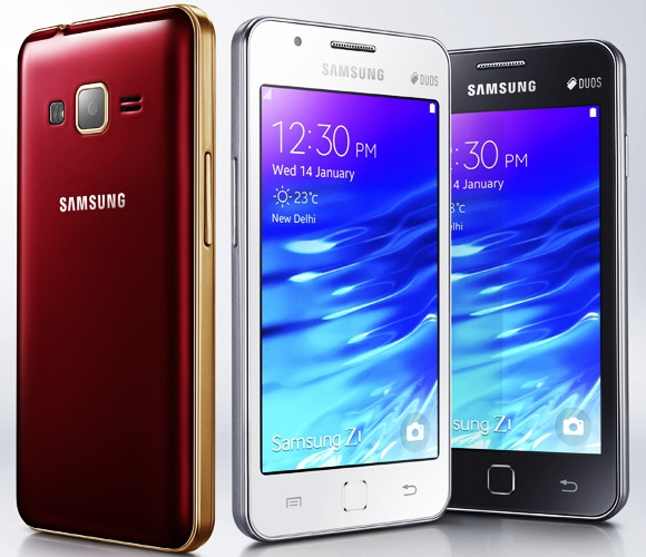 Samsung Z1 is announced