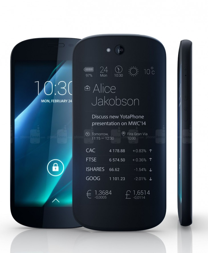 YotaPhone 2 is coming to the US